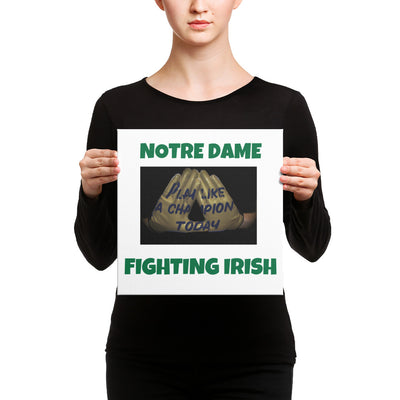 SportsMarket-Notre Dame Fighting Irish Canvas-canvas-SportsMarkets-12×12-SportsMarkets