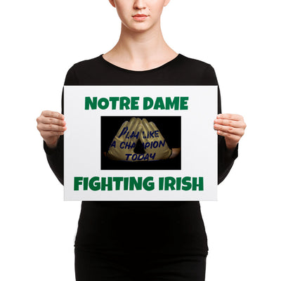 SportsMarket-Notre Dame Fighting Irish Canvas-canvas-SportsMarkets-12×16-SportsMarkets