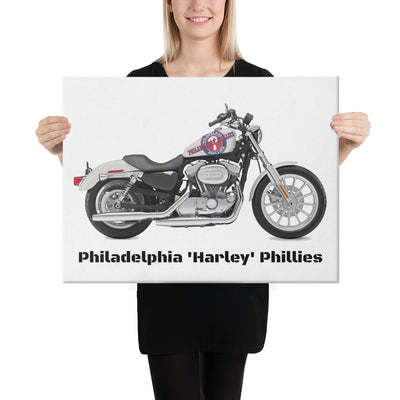 SportsMarket-Philadelphia Phillies Harley Canvas