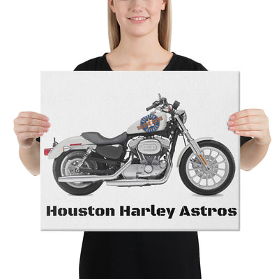 SportsMarket-Houston Astros Harley Canvas