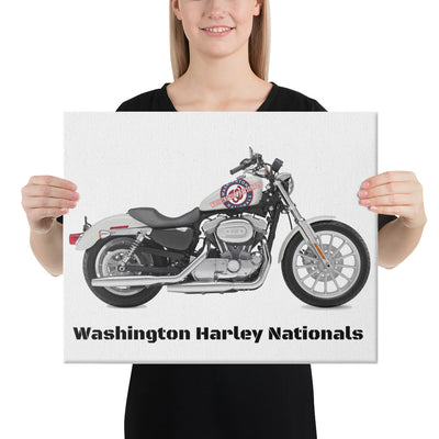 SportsMarket-Washington Nationals Harley Canvas