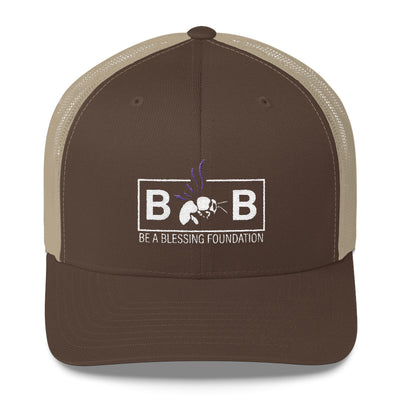 sportsMarket Premium Clothing Line-Be A Blessing Retro Low Profile Trucker Cap