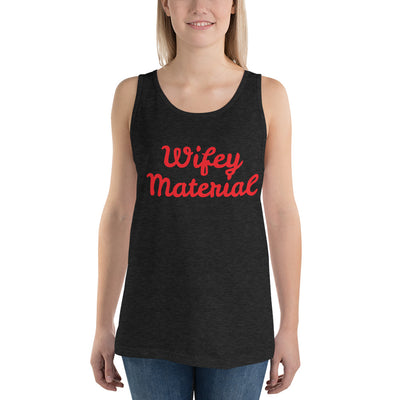 SportsMarket Premium Clothing Line-Wifey Material Bella + Canvas Classic Tank Top