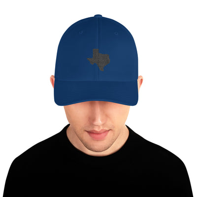 SportsMarket Premium Clothing Line-Great State of Texas Fitted Structured Twill Cap