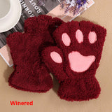 Girl's Winter Cat Gloves - Lunani's Fashion Book | Fashionable and reasonable dresses and shoes!