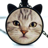 Cat Face Necklace - My Bengal Boy