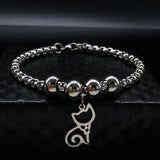 Cat Charm Bracelet - My Bengal Boy