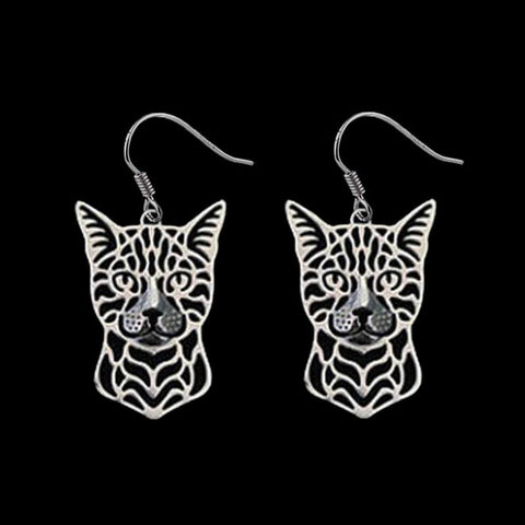 Bengal Cat Earrings - My Bengal Boy