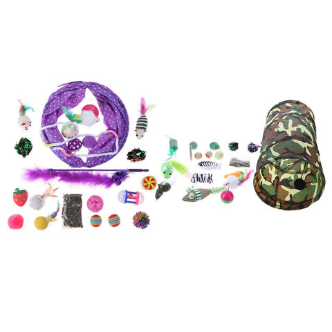 20 Piece Play Tunnel and Toys