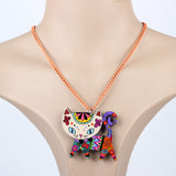 Colorful Cat Necklace - My Bengal Boy