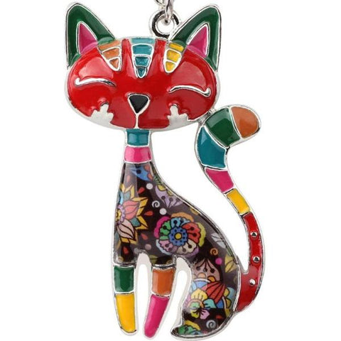 Cheerful Cat Necklace - My Bengal Boy