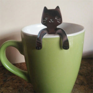 Cat Cup Hugger & Spoon