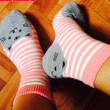 Cat Design Socks - Lunani's Fashion Book | Fashionable and reasonable dresses and shoes!