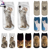 3D Cat Ankle Socks - My Bengal Boy