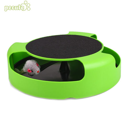 Plastic Funny Cat Toy Tease Turntable Activity Play Pet Supply Training Scratch - Lunani's Fashion Book | Fashionable and reasonable dresses and shoes!