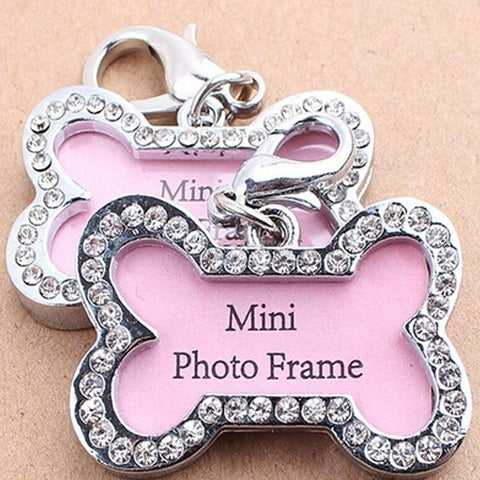 Diamond Photo Keyring
