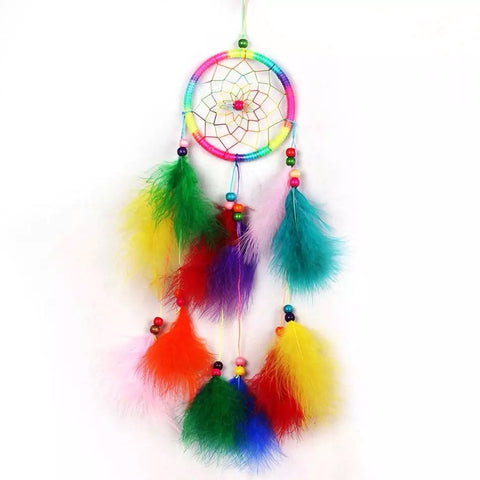 Multi-Colour Bright Dream Catcher - Lunani's Fashion Book | Fashionable and reasonable dresses and shoes!