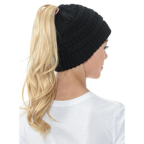 Ponytail Beanies - Lunani's Fashion Book | Fashionable and reasonable dresses and shoes!