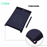 LCD Writing Tablet Digital Digital Portable 8.5 Inch Drawing Tablet Handwriting Pads Electronic Tablet Board for Adults Kids Childre - My Bengal Boy