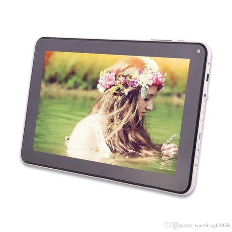 Quad Core 9 inch A33 Tablet PC with Bluetooth flash 1GB RAM 8GB ROM Allwinner A33 Andriod 4.4 1.5Ghz US0 - My Bengal Boy