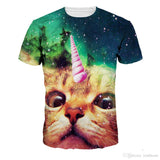 Youthcare 3D Printed T-Shirt For Men and Women Poplular Mens Doctor Cats Collection Print Designer T Shirts Women Clothes Top