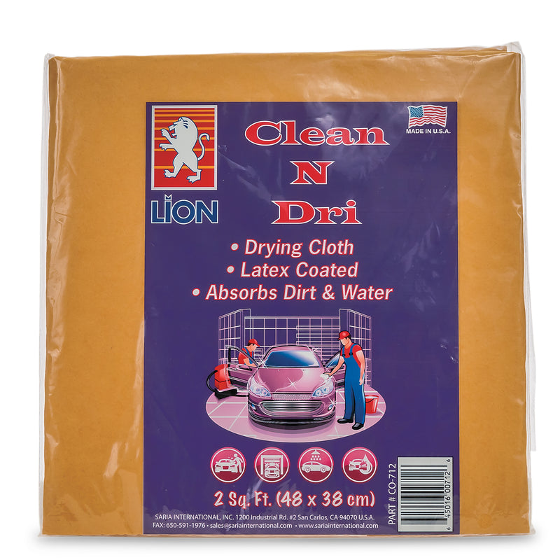 Clean N Dri Synthetic Chamois