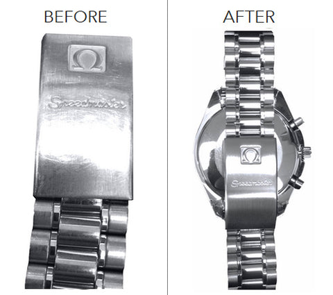 watch band cleaning