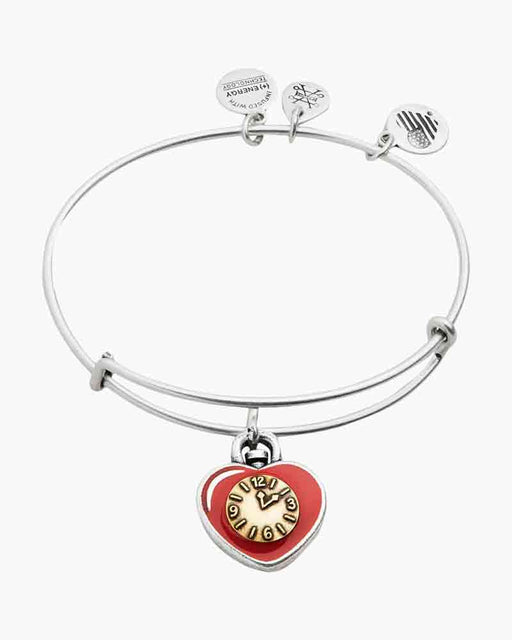 Alex And Ani Wizard of Oz Heart Charm Bangle Two Tone