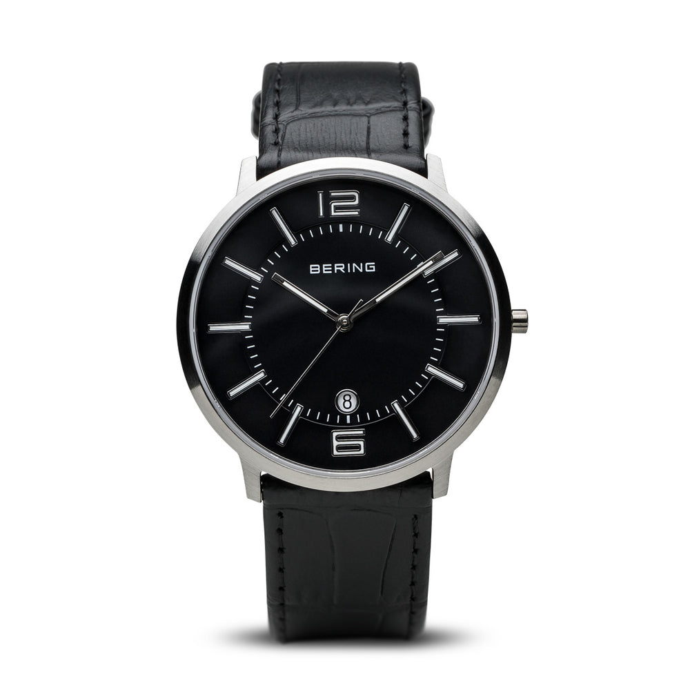 Classic Slim Watch With Scratch Resistant Sapphire Crystal 11139-409