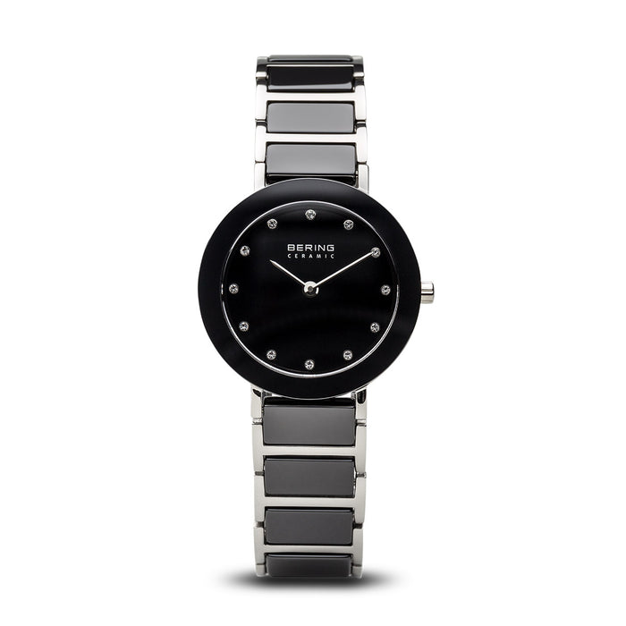Ceramic Slim Watch With Scratch Resistant Sapphire Crystal 11429-742