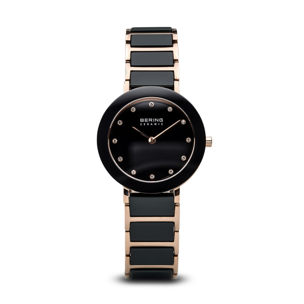 Ceramic Slim Watch With Scratch Resistant Sapphire Crystal 11429-746
