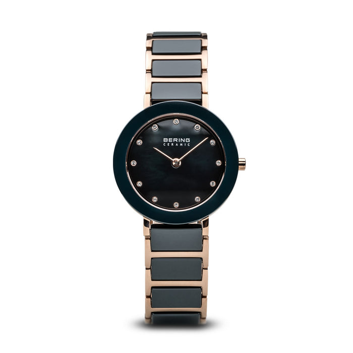 Ceramic Slim Watch With Scratch Resistant Sapphire Crystal 11429-767