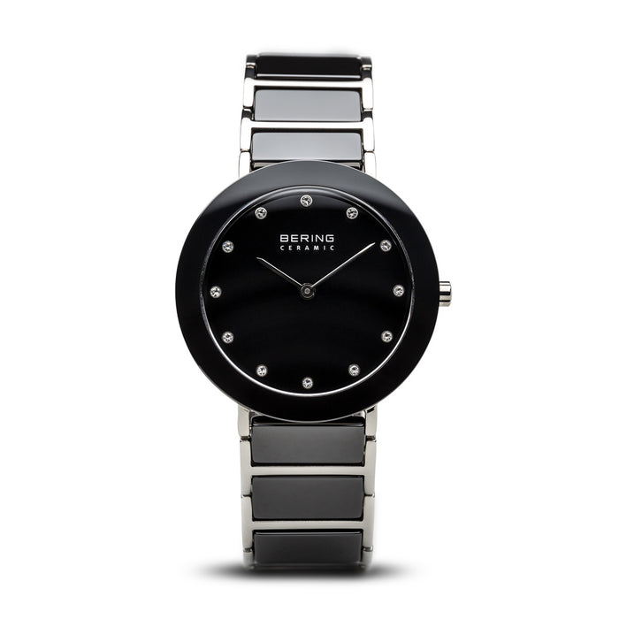Ceramic Slim Watch With Scratch Resistant Sapphire Crystal 11435-749