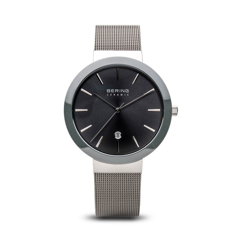 Ceramic Slim Watch With Scratch Resistant Sapphire Crystal 11440-389