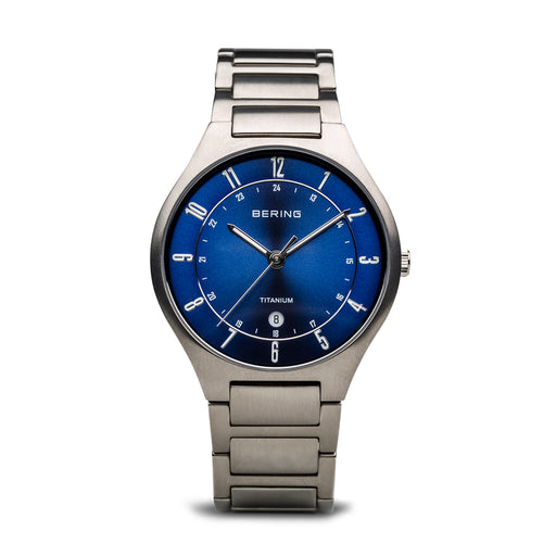 Titanium Slim Watch With Scratch Resistant Sapphire Crystal 11739-707