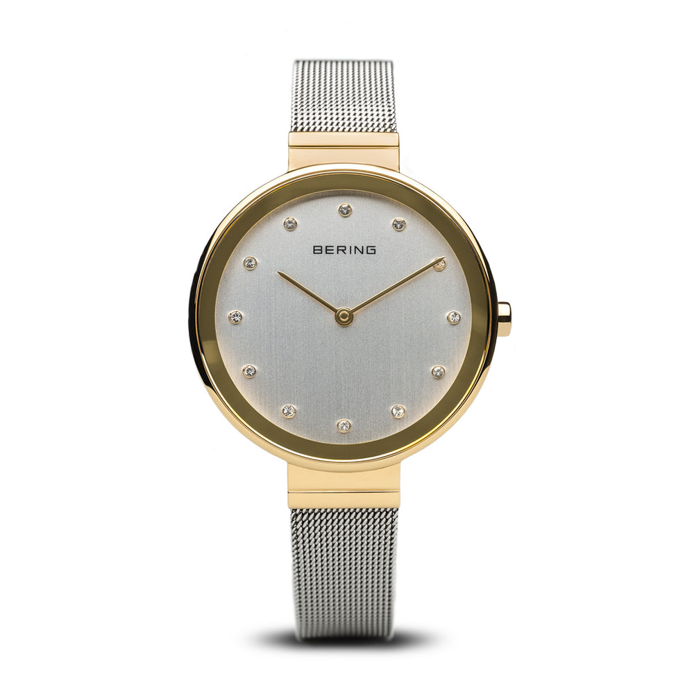 Classic Slim Watch With Scratch Resistant Sapphire Crystal 12034-010