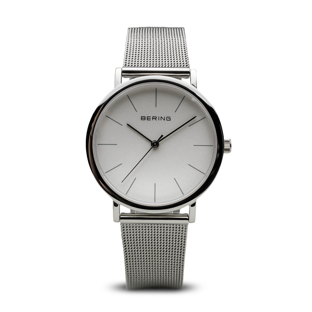 Classic Slim Watch With Scratch Resistant Sapphire Crystal 13436-000