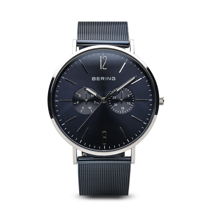 Classic Slim Watch With Scratch Resistant Sapphire Crystal 14240-307