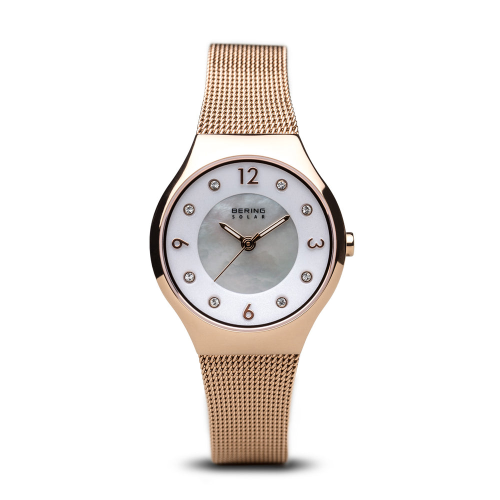 Solar Slim Watch With Scratch Resistant Sapphire Crystal 14427-366