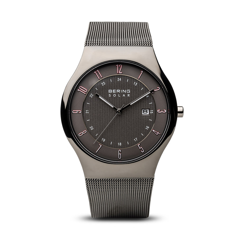 Solar Slim Watch With Scratch Resistant Sapphire Crystal 14640-077
