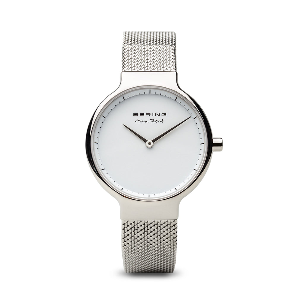 Max René Slim Watch With Scratch Resistant Sapphire Crystal 15531-004