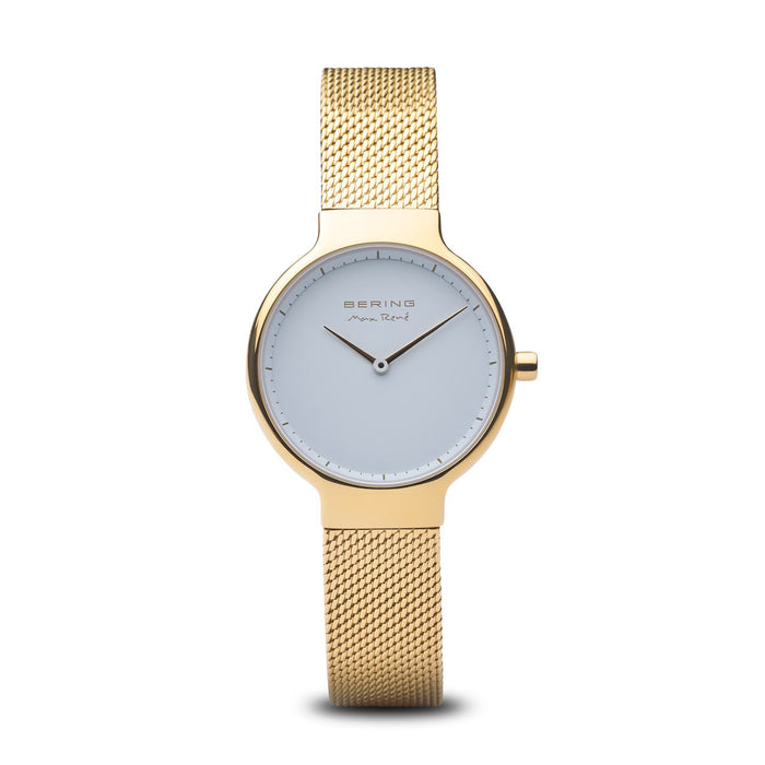Max René Slim Watch With Scratch Resistant Sapphire Crystal 15531-334