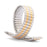 Ladies 10-14MM Twist-O-Flex Classic Style Band with Adjustable Straight End