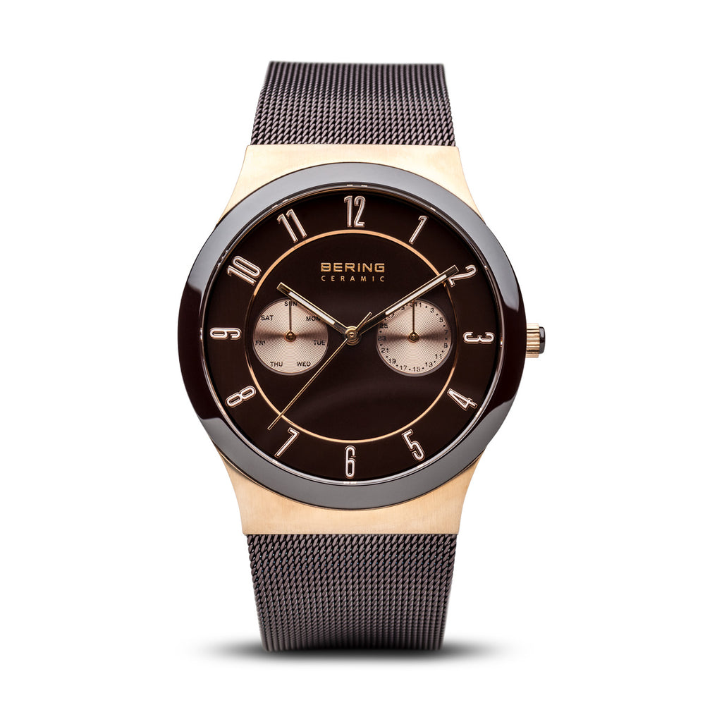 Ceramic Slim Watch With Scratch Resistant Sapphire Crystal 32139-265