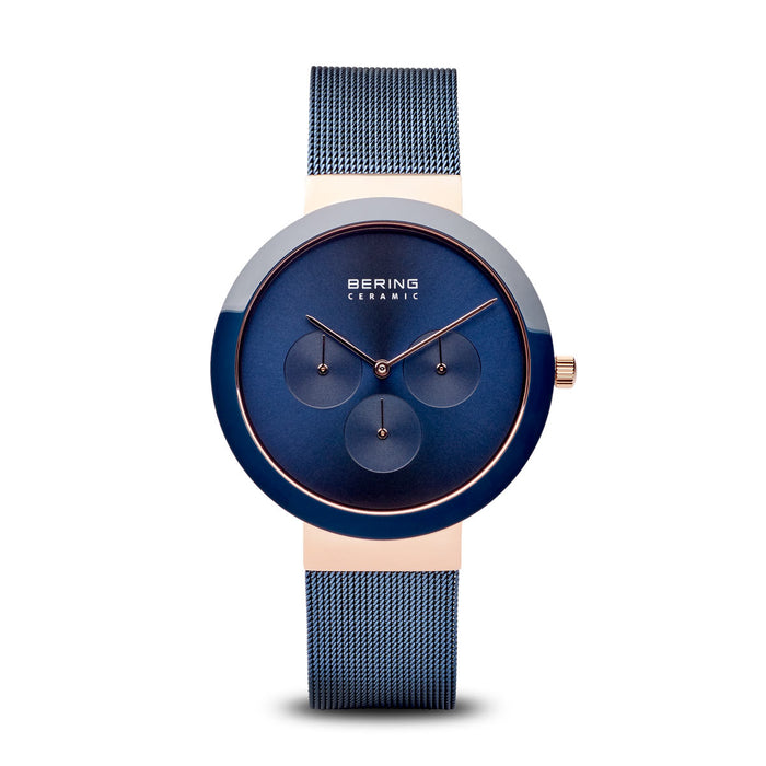 Ceramic Slim Watch With Scratch Resistant Sapphire Crystal 35040-367