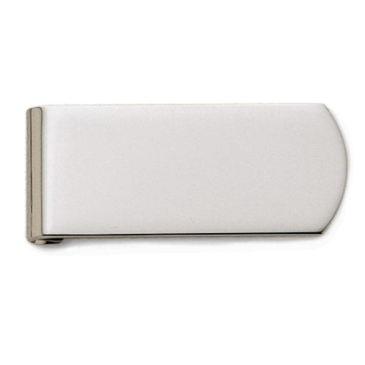 Sterling Silver Plain Money Clip