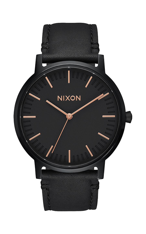 Nixon Porter Leather Watch A1058-957-00