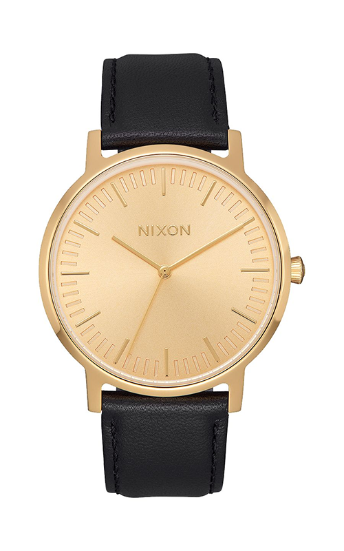 Nixon Porter Leather Watch A1058-510-00