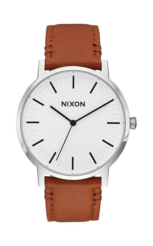 Nixon Porter Leather Watch A1058-2442-00