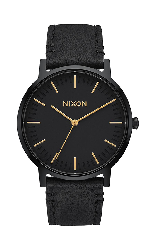 Nixon Porter Leather Watch A1058-1031-00